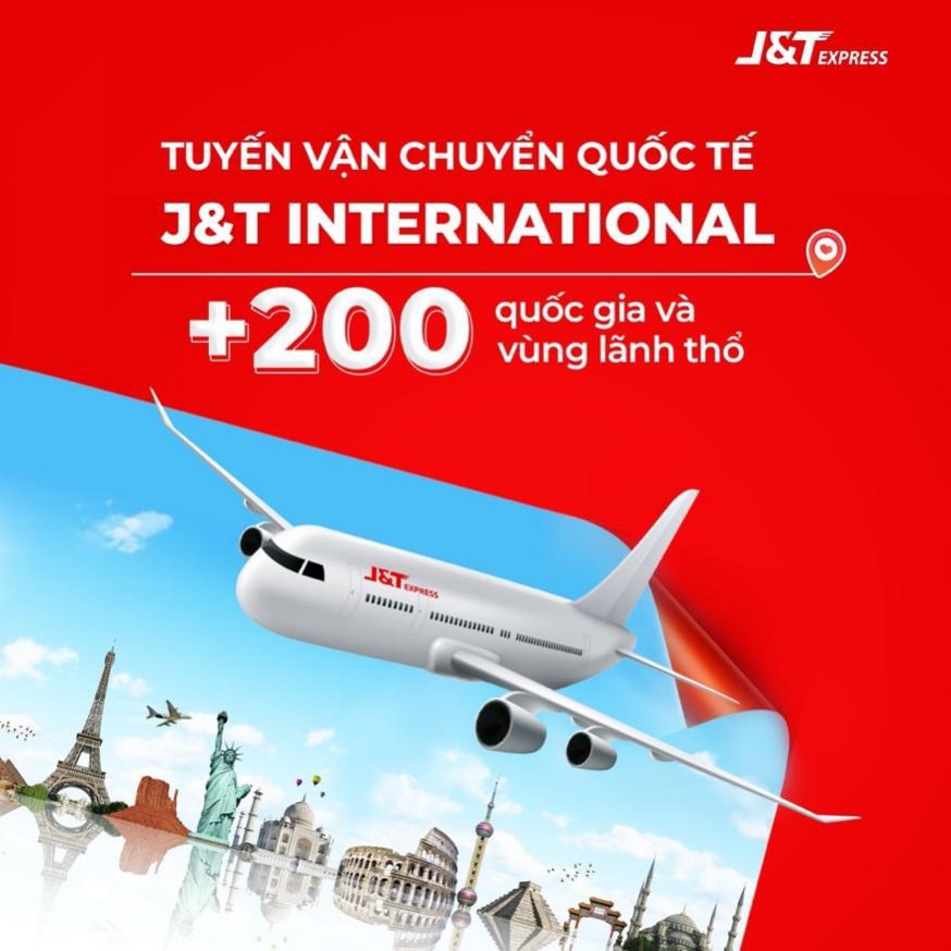 J&T Express mở rộng dịch vụ vận chuyển quốc tế tới hơn 200 quốc gia - Ảnh 1.