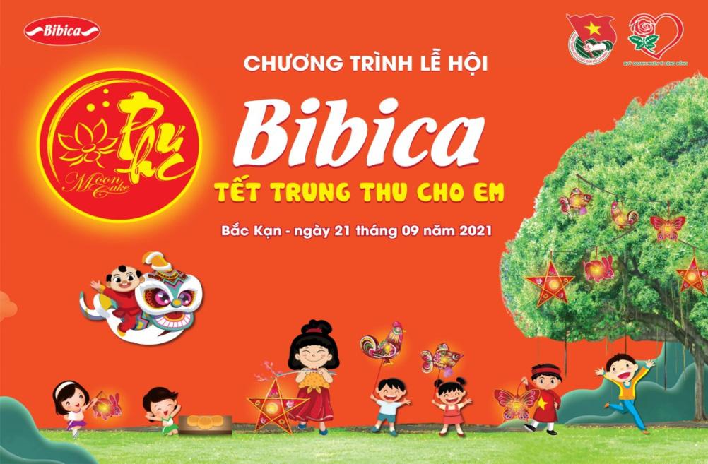 """Bibica trao đi yêu thương trong chương trình """"Tết Trung Thu Cho Em"""" - Mùa 2 - Ảnh 2."""