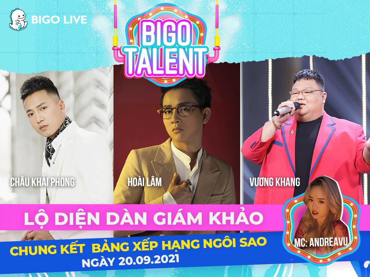 """Lộ diện dàn giám khảo ngồi """"ghế nóng"""" cuộc thi Bigo Talent 2021 - Ảnh 1."""