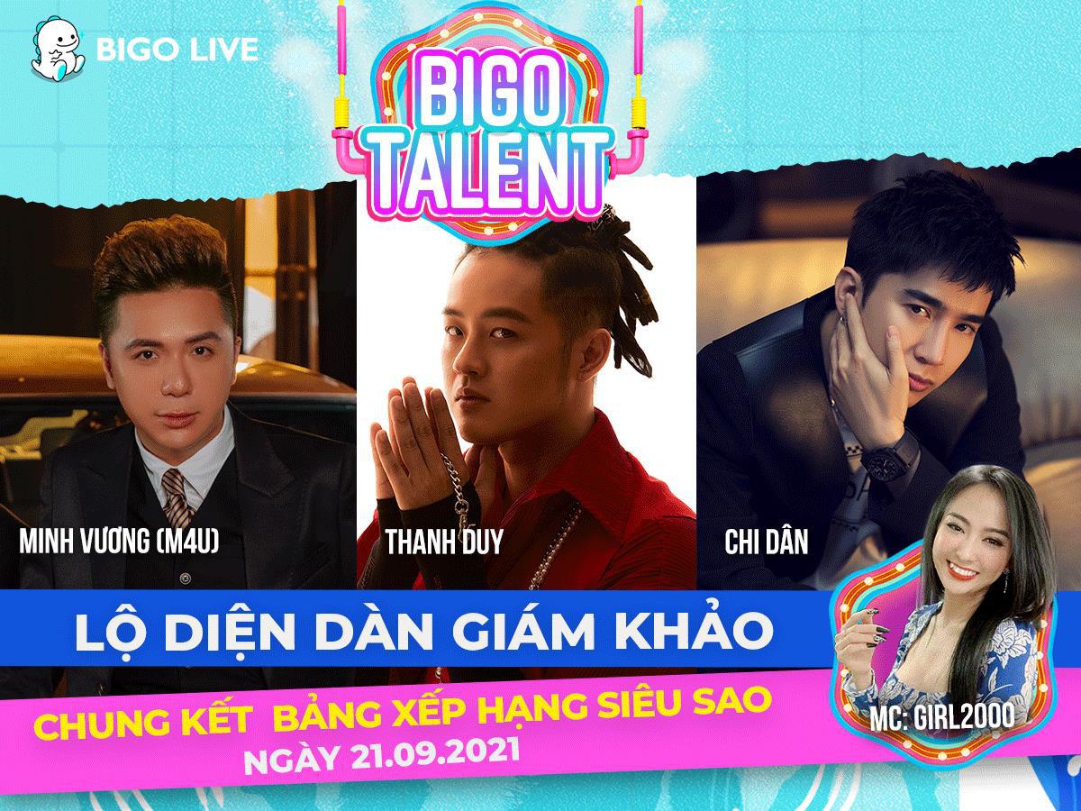 """Lộ diện dàn giám khảo ngồi """"ghế nóng"""" cuộc thi Bigo Talent 2021 - Ảnh 2."""
