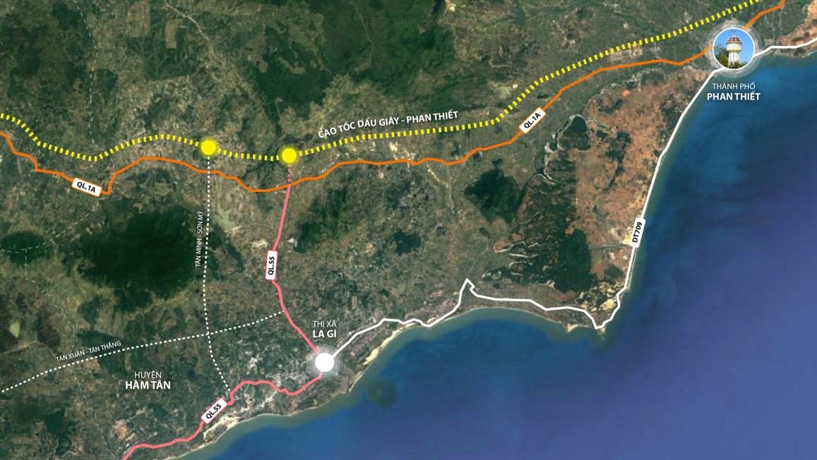 Hàng loạt các công trình hạ tầng được đầu tư, tạo bệ phóng cho La Gi lên thành phố - Ảnh 2.