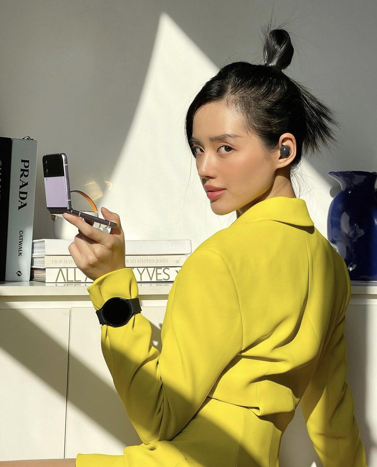 Cô Em Trendy bị gây mê cực mạnh từ khi có Galaxy Z Flip3, chăm chỉ selfie và sáng tạo video hơn hẳn lúc trước - Ảnh 3.