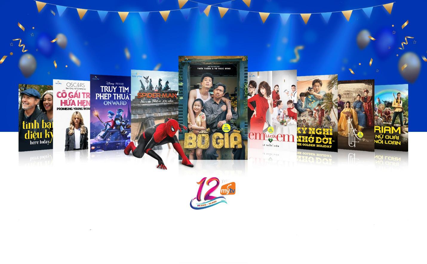 Truyền hình MyTV gửi tặng những phần quà tinh thần tri ân khách hàng nhân kỷ niệm sinh nhật 12 năm - Ảnh 1.