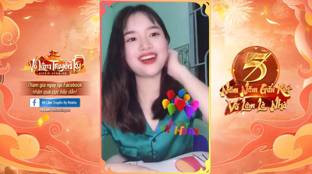 Muôn kiểu chúc mừng sinh nhật của game thủ dành cho Võ Lâm Truyền Kỳ Mobile - Ảnh 4.