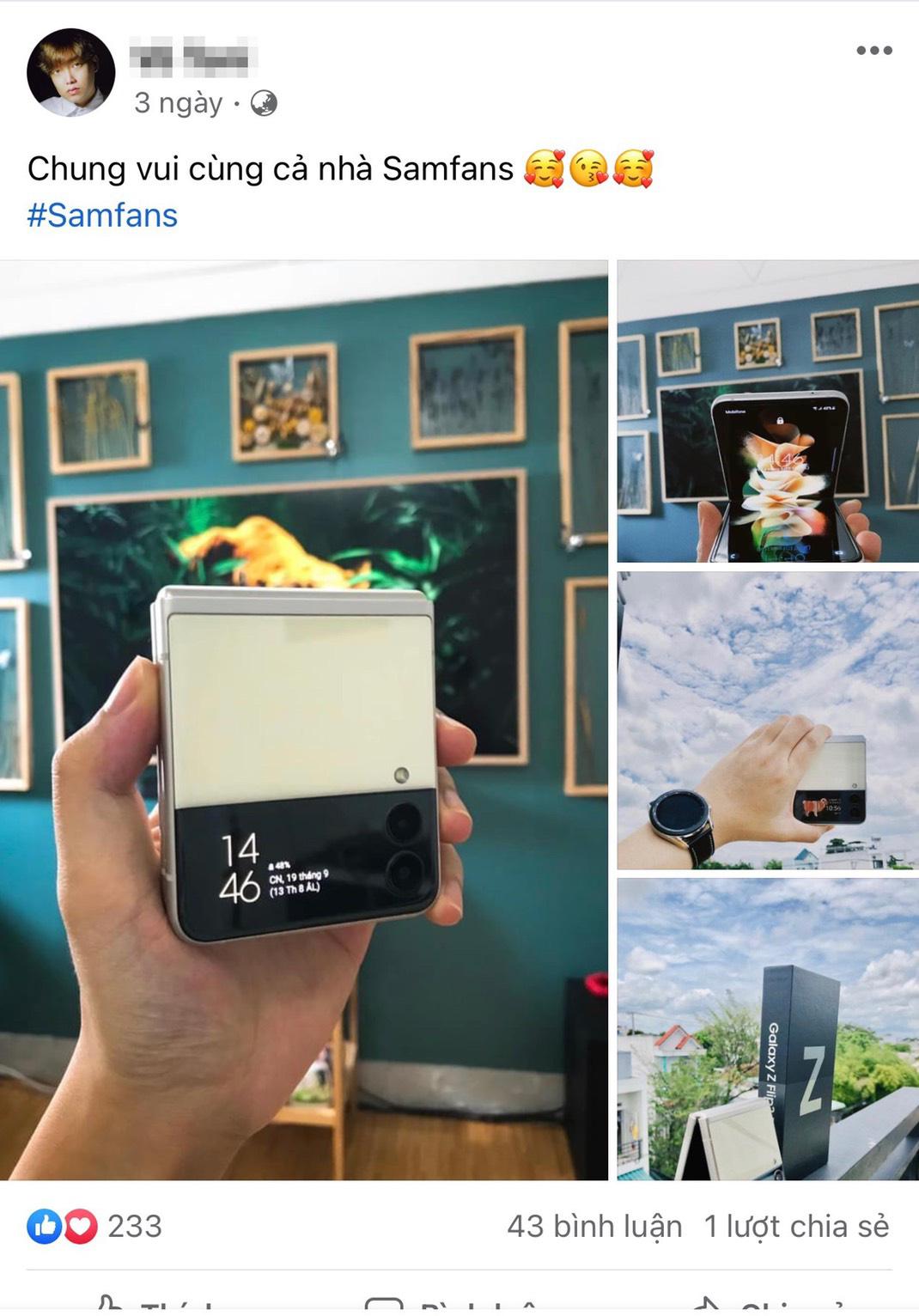 """Quay xe về Galaxy Z Flip3, """"Phê chữ ê kéo dài"""" nên máy trong tay phải khoe ngay cho nóng - Ảnh 4."""