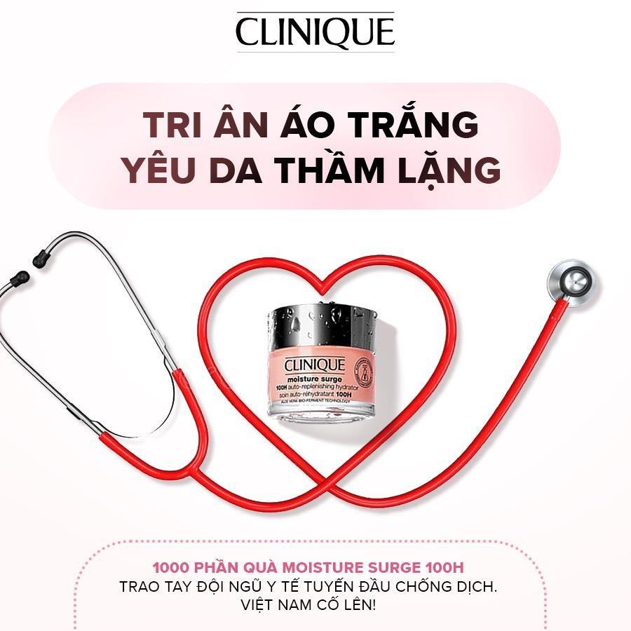 Nhãn hàng Clinique Việt Nam trao tặng 1000 sản phẩm chăm sóc da - tri ân lực lượng tuyến đầu chống Covid-19 - Ảnh 1.