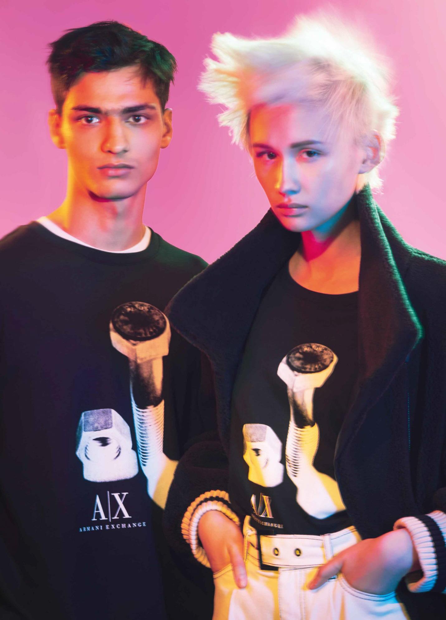 Armani Exchange Thu/Đông 2021: Vẻ đẹp đương đại khởi nguồn từ quá khứ - Ảnh 2.
