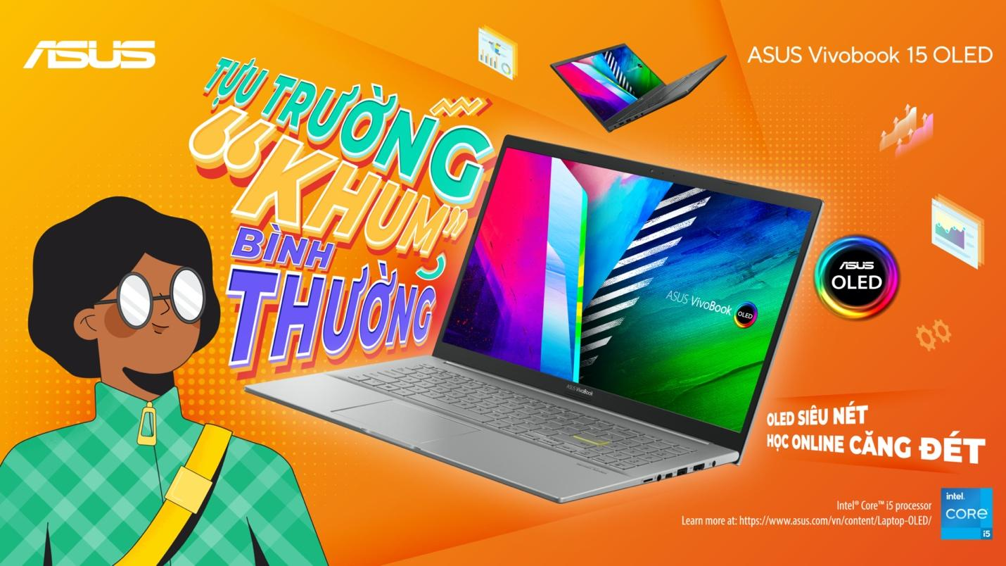 Bộ ảnh tựu trường khó quên cùng ASUS VivoBook 15 OLED - Ảnh 5.