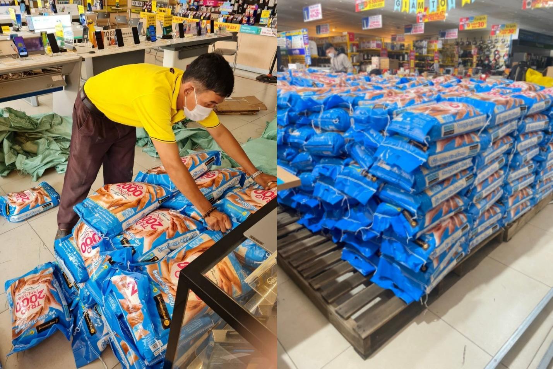 Nhân viên Thế Giới Di Động và Điện Máy Xanh háo hức với chương trình thiện nguyện trao 2000 tấn gạo - Ảnh 2.