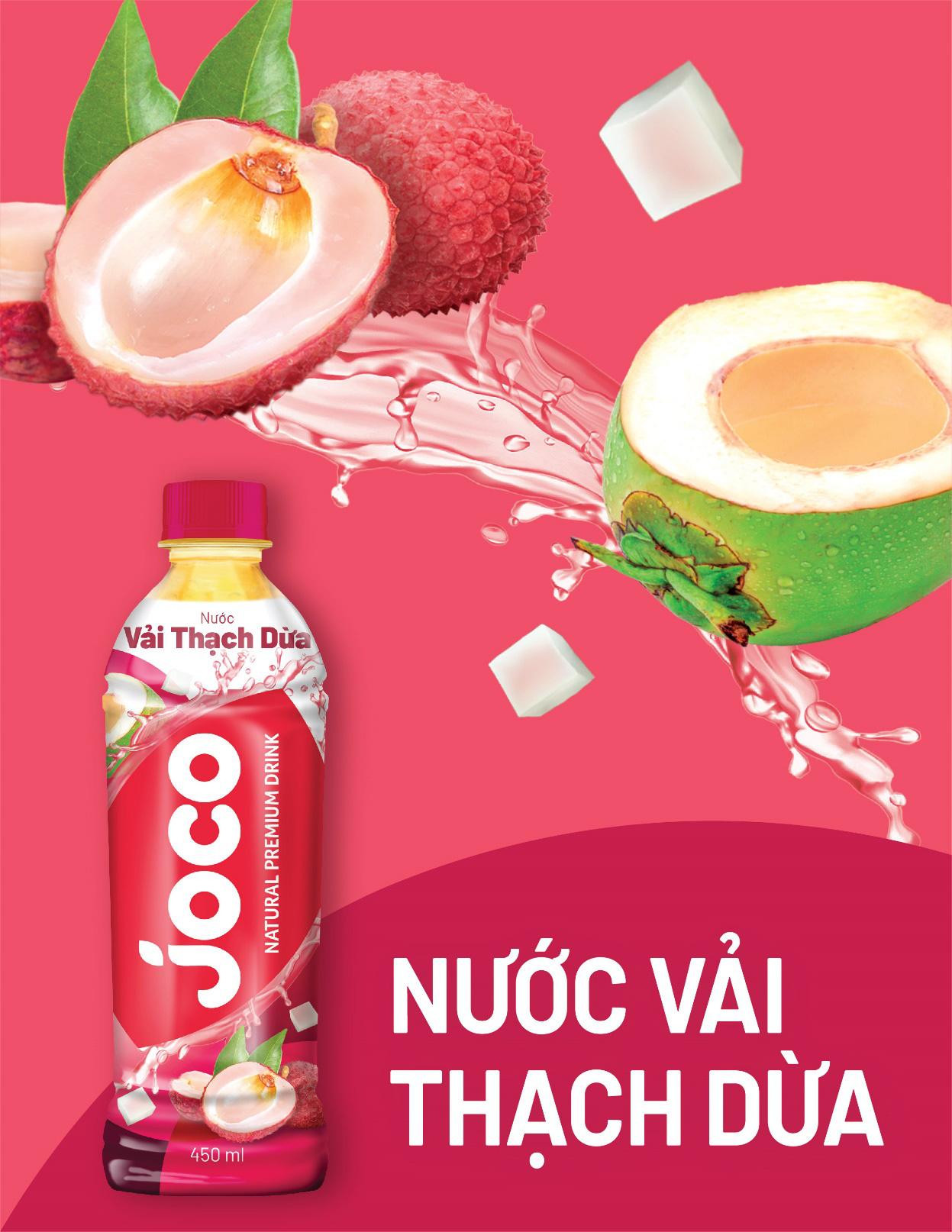 Nước trái cây JOCO khiến giới trẻ mê mẩn khi có thêm hương vị siêu độc đáo - Ảnh 3.