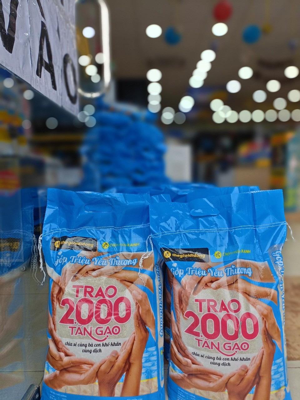 Nhân viên Thế Giới Di Động và Điện Máy Xanh háo hức với chương trình thiện nguyện trao 2000 tấn gạo - Ảnh 5.
