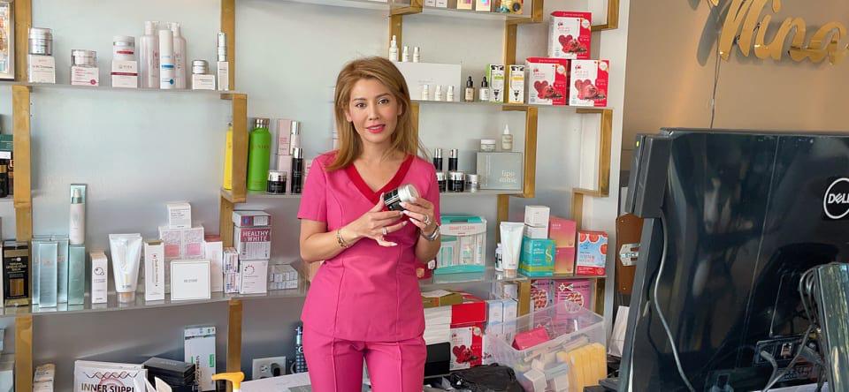 Nina Beauty House - thương hiệu mỹ phẩm tại Mỹ của CEO gốc Việt - Ảnh 1.