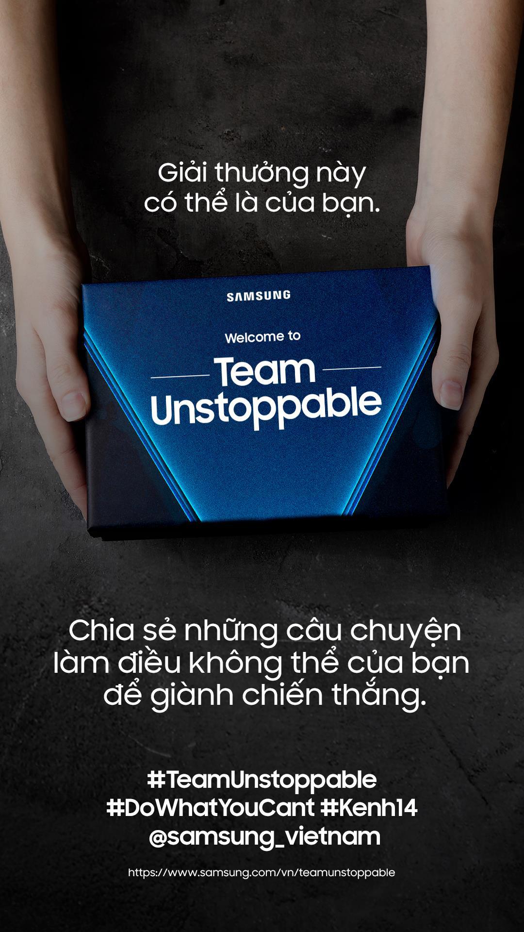 Thử thách cực hot vừa đổ bộ: #TeamUnstoppable - Gen Z nói về những điều không thể! - Ảnh 3.