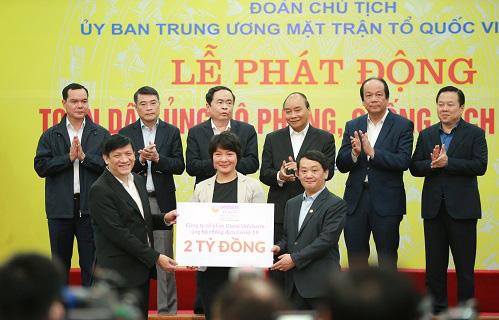 Diana tiên phong đồng hành cùng phụ nữ Việt chống dịch - Ảnh 3.