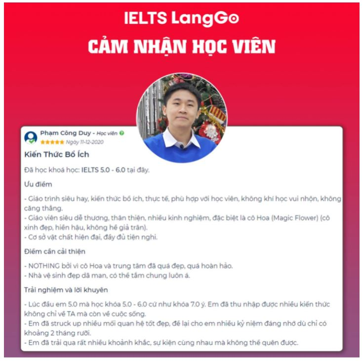 Hệ thống luyện thi IELTS LangGo cảnh báo chiêu trò lừa đảo - Ảnh 5.