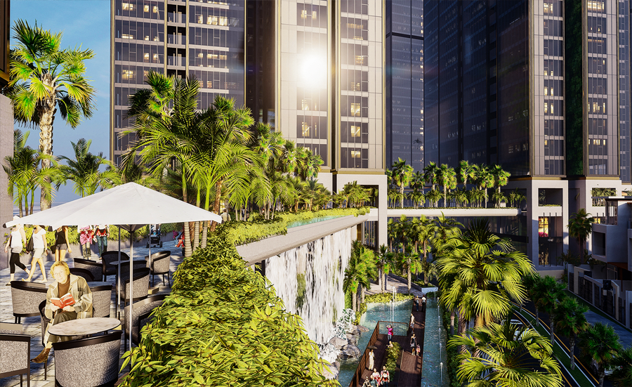 Khám phá không gian sống 365 ngày chuẩn resort tại Sunshine City Sài Gòn san vuong 4