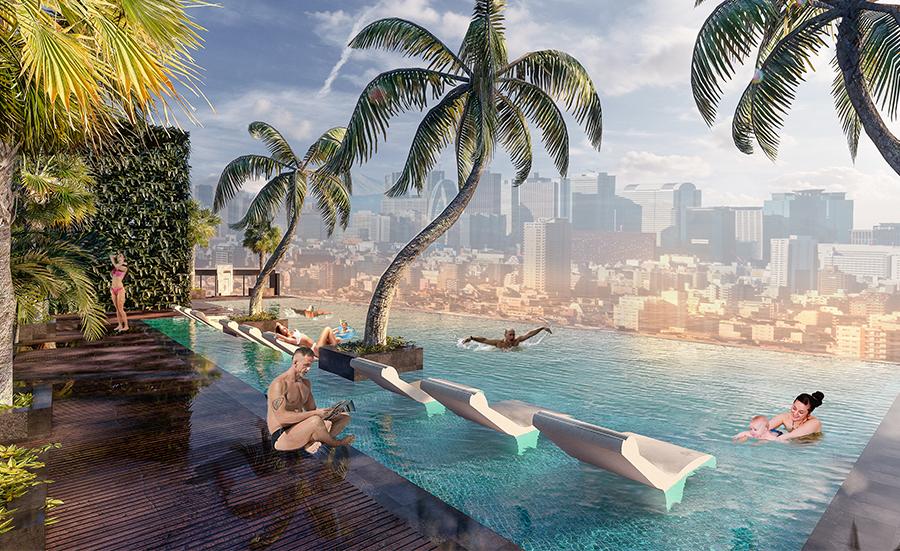 Khám phá không gian sống 365 ngày chuẩn resort tại Sunshine City Sài Gòn tang mai 3