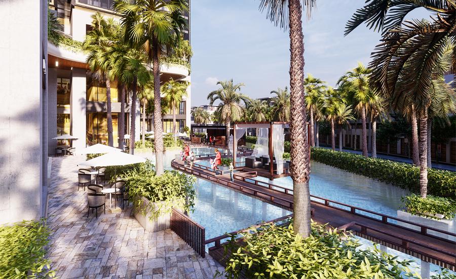 Khám phá không gian sống 365 ngày chuẩn resort tại Sunshine City Sài Gòn tien ich 2