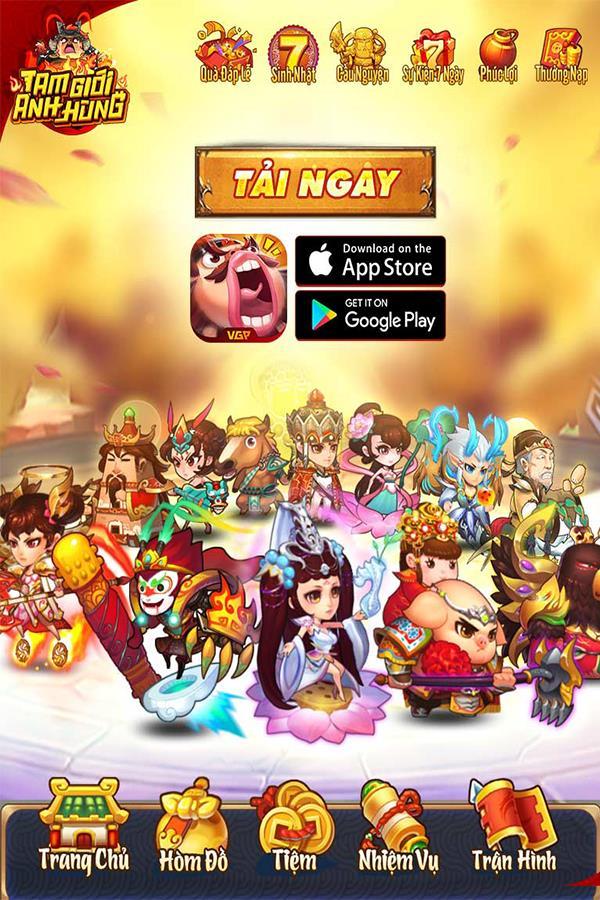 Một số hình ảnh của game Tam Giới Anh Hùng Img20190325153854447