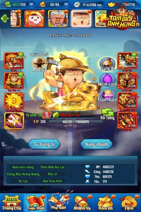 Một số hình ảnh của game Tam Giới Anh Hùng Img20190325153855594