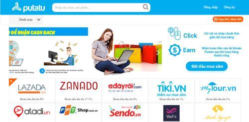Hệ thống cashback hoàn tiền thông minh của Việt Nam - putatu.com