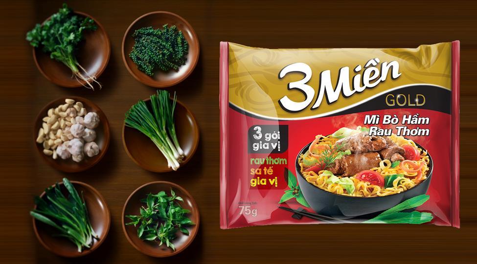 Mang mì vị Việt ra thế giới