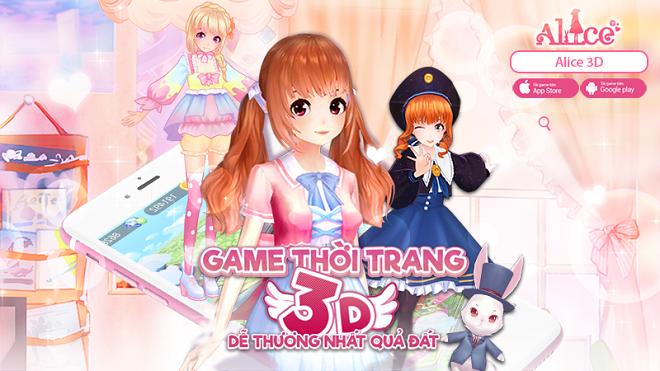 Alice – Tựa gMO thời trang 3D đầu tiên được phát hành tại Việt Nam