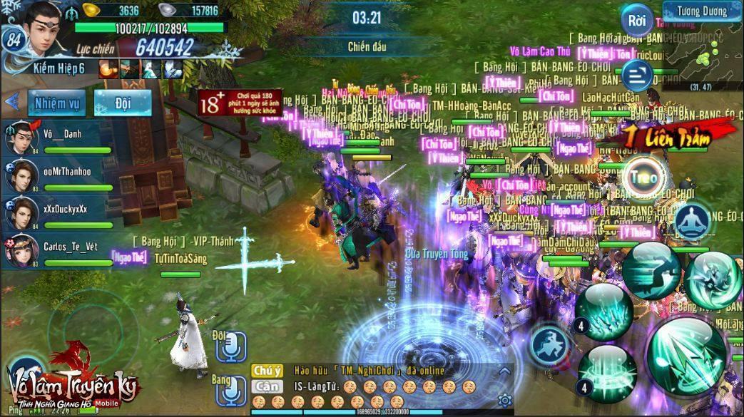 """Võ Lâm Truyền Kỳ Mobile – tựa game liên tục """"làm mưa làm gió"""" cộng đồng game thủ hơn nửa năm qua."""