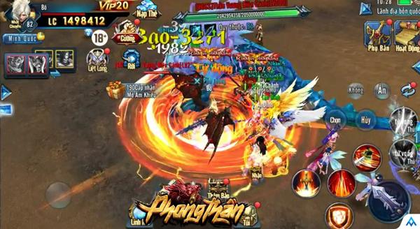 Thêm một tựa game mobile cộp mác Phong Thần đưa chân vào làng game Việt