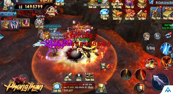 Game thủ đã có thể tải sớm game mobile Phong Thần