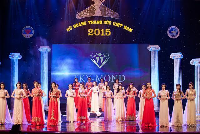 Thương hiệu Skymond Luxury đồng hành cùng cuộc thi Nữ hoàng trang sức 2015