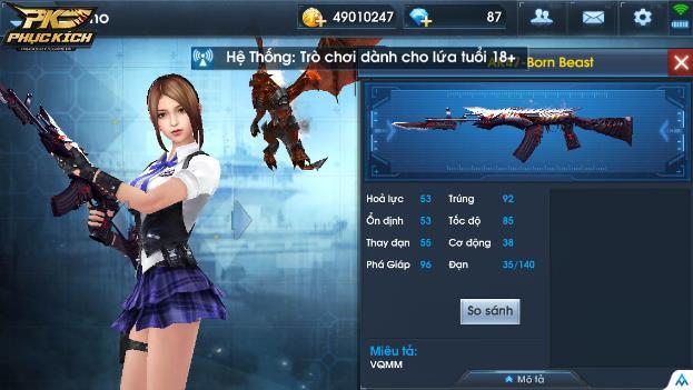 AK47- Born Beast