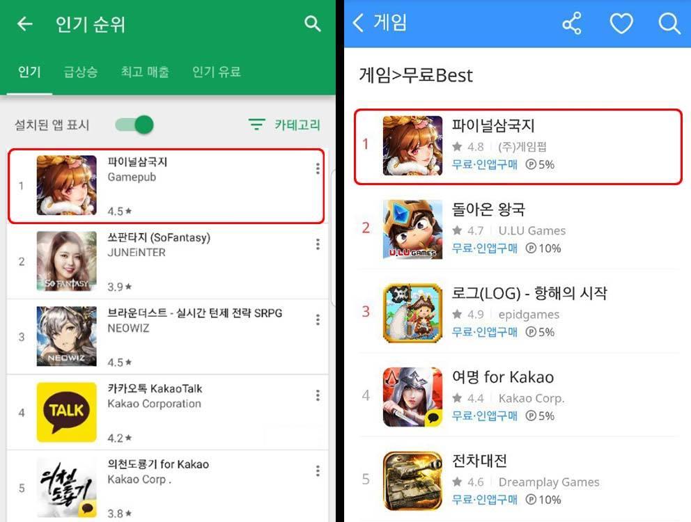 OMG 3Q liên tục đứng đầu bảng xếp hạng tại Hàn Quốc.