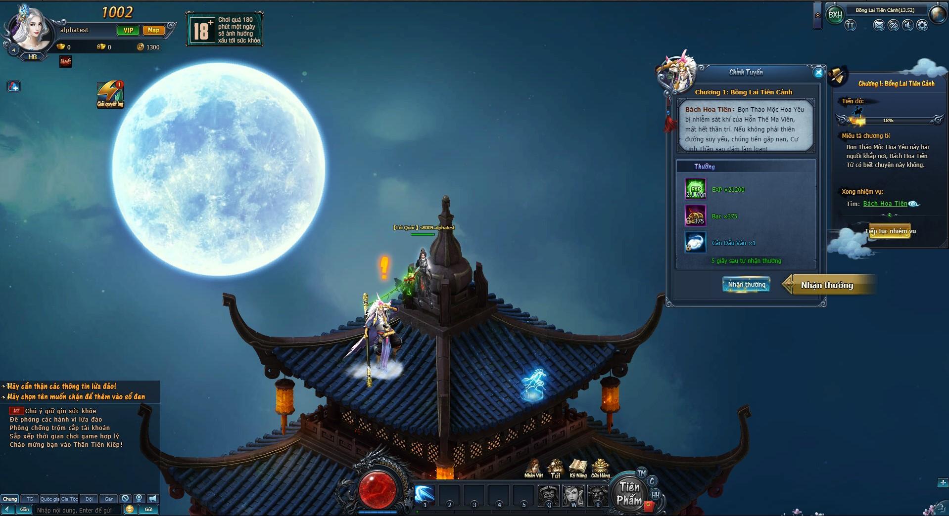 Thần Tiên Kiếp chính thức ra mắt bản Closed Beta không reset nhân vật