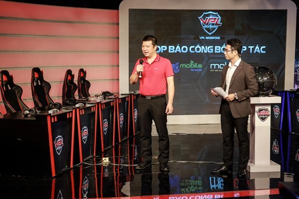 BLV Quang Huy – Giám đốc nội dung Kênh VTC3 đồng hành cùng giải đấu