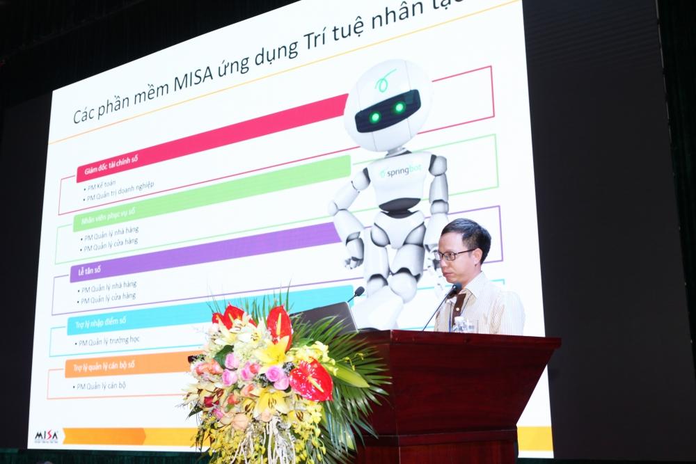 MISA trình diễn nhiều sản phẩm ứng dụng trí tuệ nhân tạo trong Hội thảo CNTT – TT tại tỉnh Lào Cai