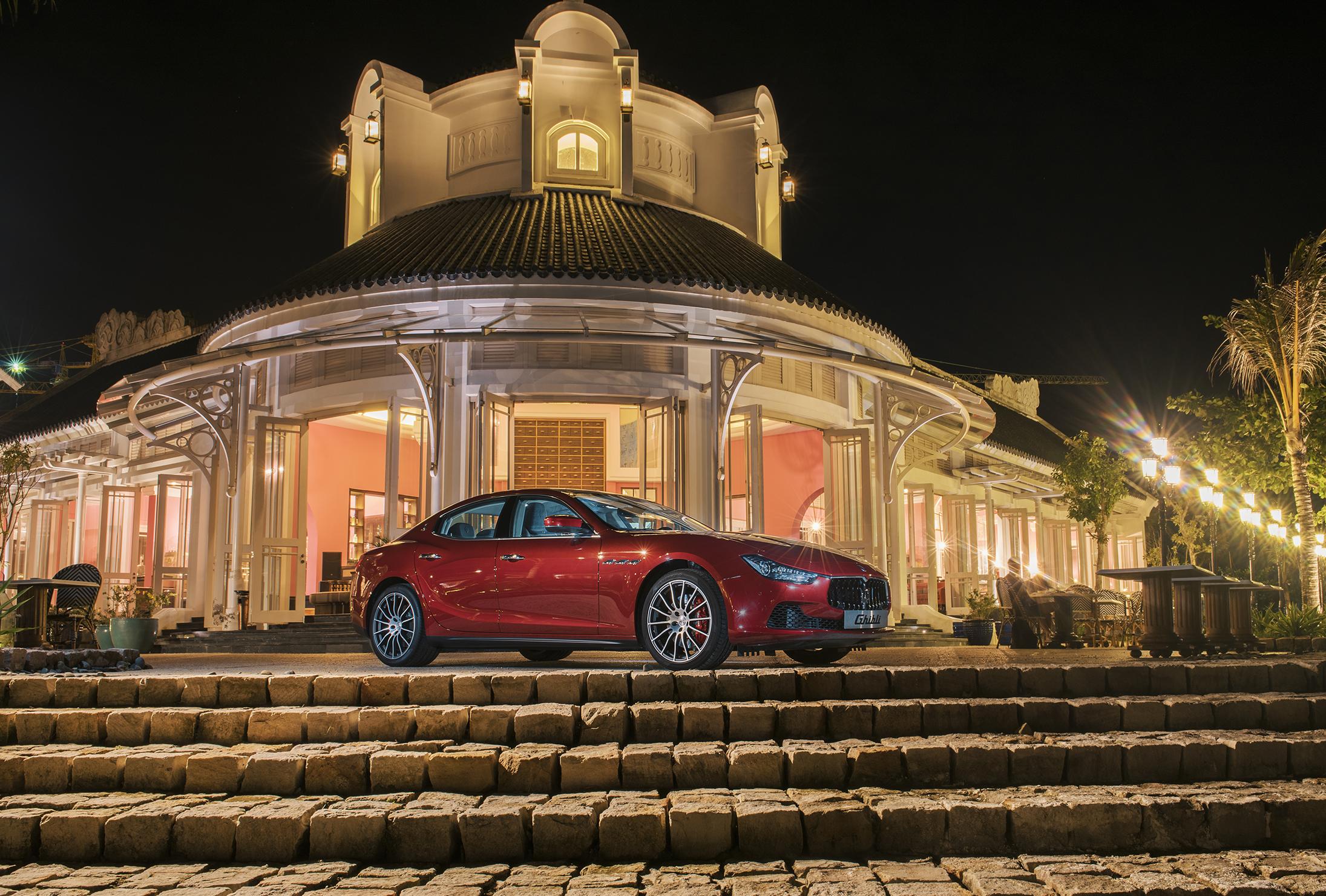 Sự giao thoa xứng tầm của Maserati và JW Marriott Phu Quoc Emerald Bay - Ảnh 1.