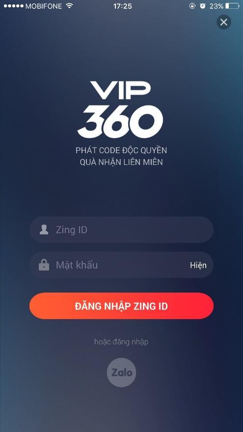Tải app VIP 360 – Cổng hỗ trợ khách hàng trực tuyến dành cho game thủ VNG