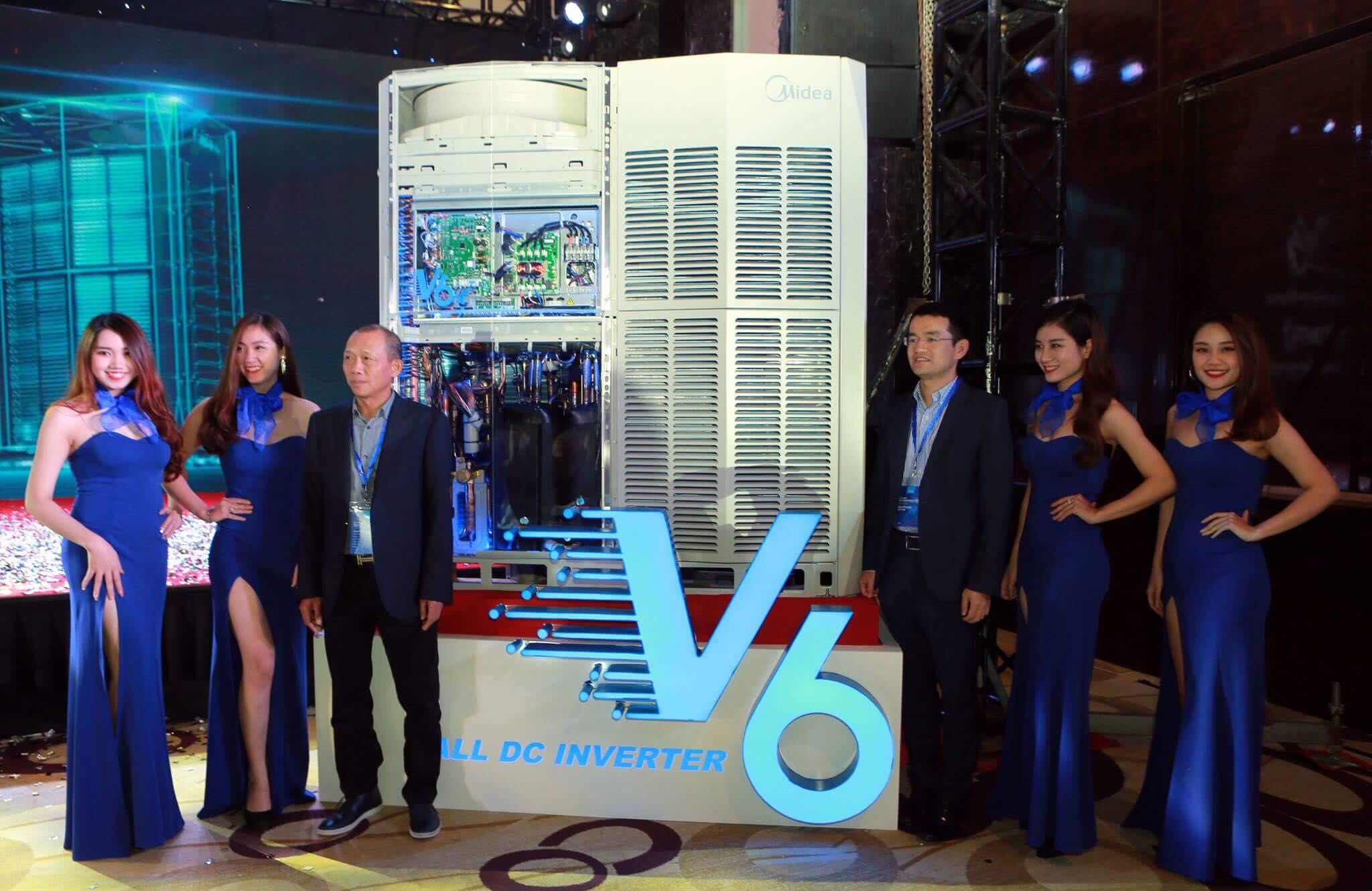 Midea ra mắt ấn tượng sản phẩm VRF thế hệ mới V6