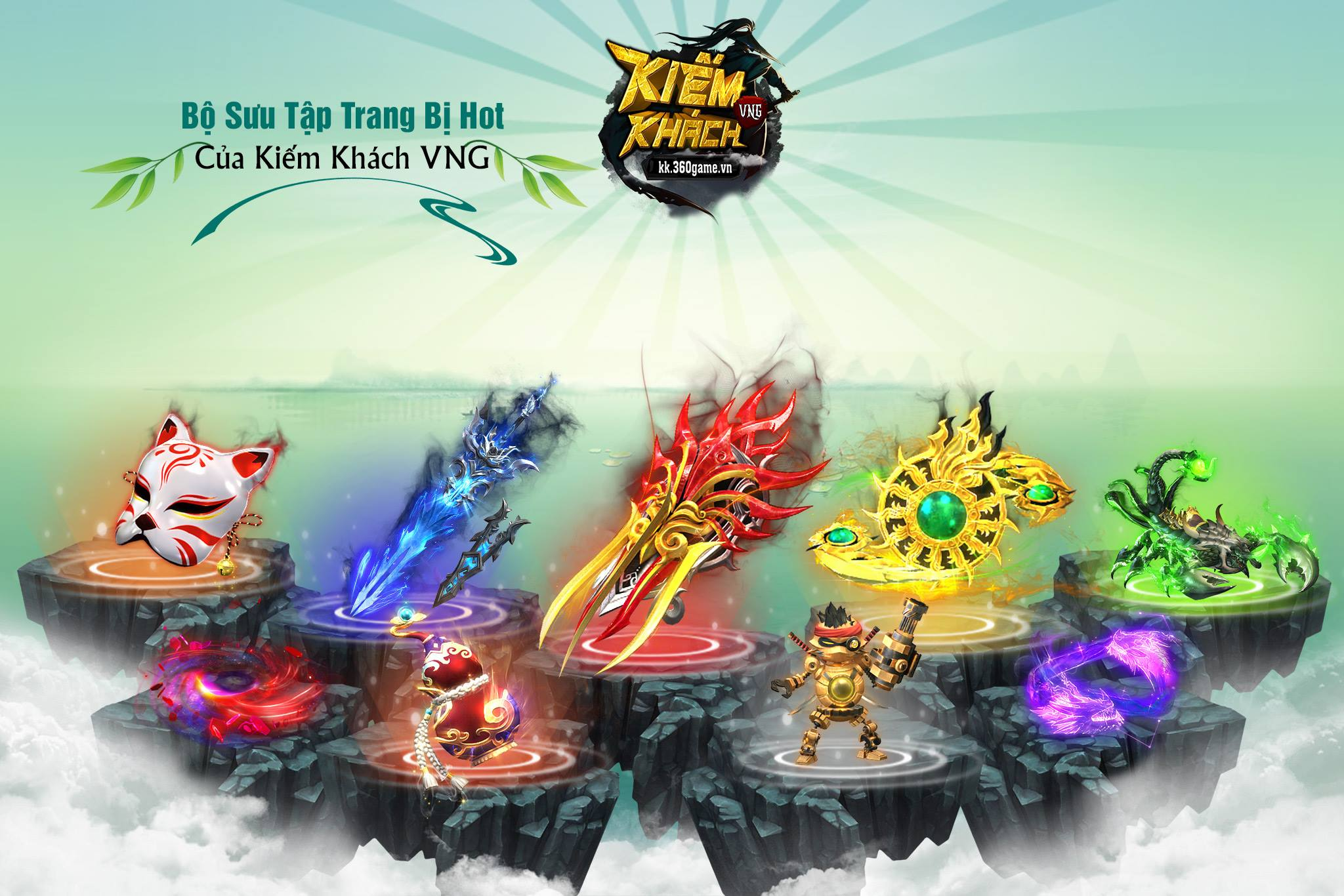Webgame Kiếm Khách VNG mở Alpha Test 10h00 ngày 08/04/2018