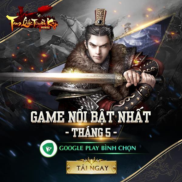 Lọt Top GooglePlay, Tam Quốc Truyền Kỳ Mobile chứng minh đẳng cấp số 1 dòng game chiến thuật - ảnh 1