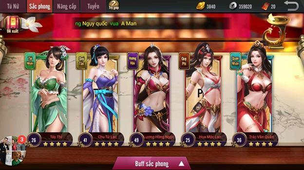 Tam Quốc Truyền Kỳ Mobile Top 5 game chiến thuật trên Store App Img20180514164825359