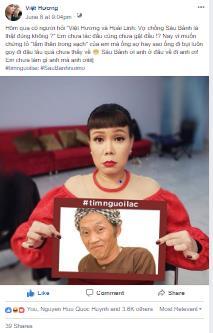 Giữa tâm bão #timnguoilac trên mạng xã hội, lộ tin Hoài Linh làm thám tử - Ảnh 2.