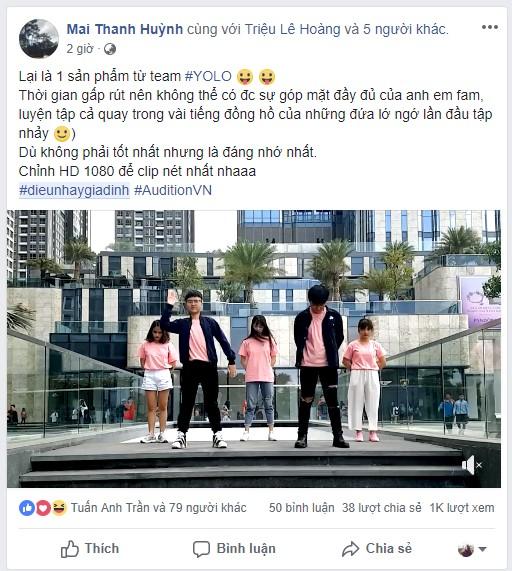 Audition thả bùa yêu tưng bừng nhân dịp sinh nhật 2018 - Ảnh 4.