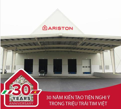 Bình nước nóng Ariston – thương hiệu Ý tỏa sáng trên đất Việt - Ảnh 1.