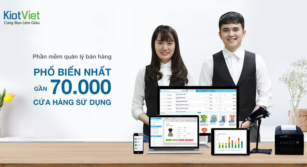 Phần mềm quản lý bán hàng có giá bằng ly trà đá KiotViet lọt top 50 doanh nghiệp CNTT hàng đầu Việt Nam