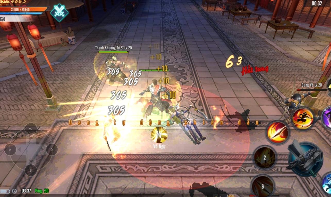 Thần Long Tam Quốc – Game Mobile nhập vai chuẩn Tam Quốc, chuẩn PK sắp