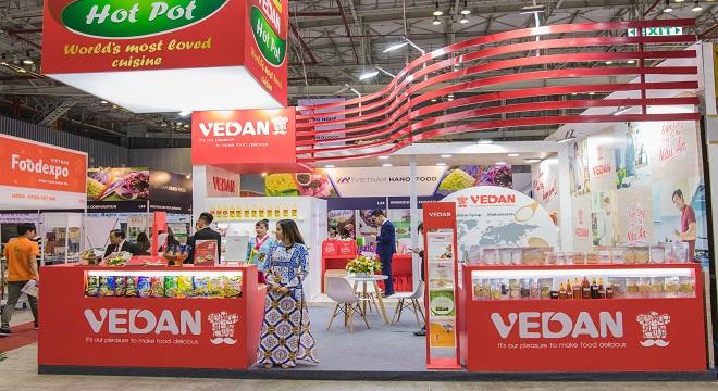 Vedan gây ấn tượng với loạt sản phẩm mới tại Vietnam Foodexpo 2018