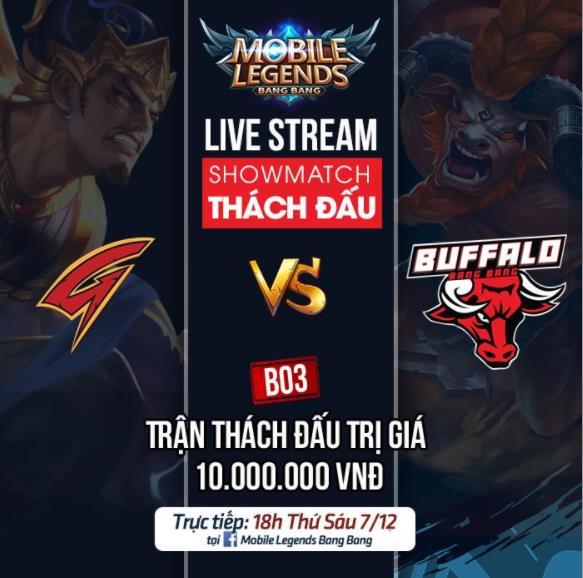 GoD Gaming gạ kèo thách đấu Mobile Legends Bang Bang VNG với Buffalo Esports trị giá 10 triệu VNĐ - Ảnh 1.
