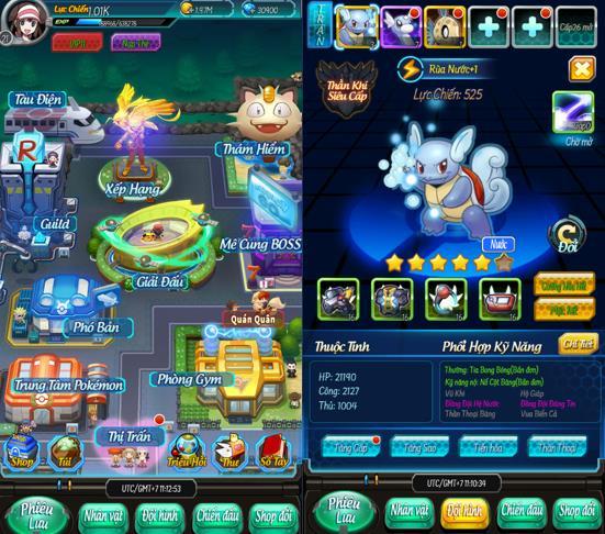 Bảo Bối Thần Kỳ H5 - Game hoài niệm về cả một bầu trời tuổi thơ cùng những chú Pokémon - Ảnh 3.